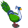 Modest Feather Peacock-icon