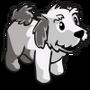 Sheep Dog Puppy Gray-icon
