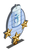 Spring Meadow Candle 3 Star Mastery Sign-icon