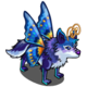 Butterfly Wings Wolf-icon