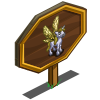 Dragonfly Pegacorn Foal Mastery Sign-icon