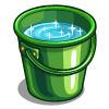 Emerald Water Bucket-icon