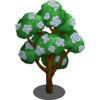 Flower Cluster Tree-icon