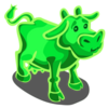 Glow-in-the-dark Cow-icon