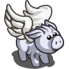Majestic White Pig-icon