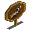 Black Footed Ferret Mastery Sign-icon