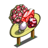 Giant Red Gem Tree Mastery Sign-icon