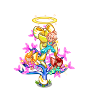 Purple Angel Tree-icon