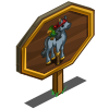 Pirate Horse Mastery Sign-icon