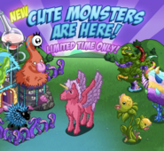 Cute Monsters Event (2013) Loading Screen