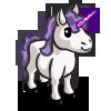 Mini Purple Unicorn-icon