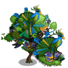 Tropical Bird Tree-icon