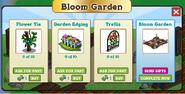 Bloom Garden Inside Requirements