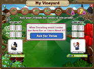 Charming Vineyard Question 5