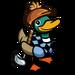 Golfer Duck-icon