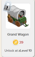 Grand Wagon Rewardville locked