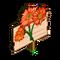 Orange Daisy Mastery Sign-icon