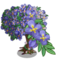 Purple Hanging Flower Tree-icon