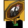 Lady Panda Mastery Sign-icon