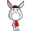 New Year Bunny Costume-icon