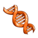 Orange DNA-icon