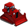 Red Bulldozer-icon