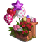 Roses and Card Flower Stand-icon