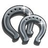 Silver Horseshoe-icon
