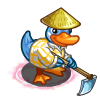 Working Hoe Duck-icon