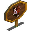 Apple Horse Mastery Sign-icon
