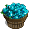Aquamarine Rose Bushel-icon