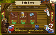 Bait Shop Inside