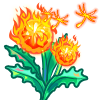 Flaming Dandelion-icon
