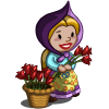 Flower Seller Gnome-icon
