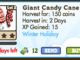Giant Candy Cane Tree