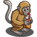 Iced Tea Monkey-icon