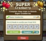 Super Cranberry Certify