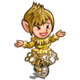 Gold Gracious Cycle-icon