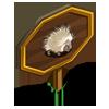 White Porcupine Mastery Sign-icon