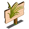 White Wheat Mastery Sign-icon