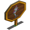 Bedazzled Dolphin Mastery Sign-icon