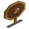 Buckskin Mini Foal (stallion) Mastery Sign-icon