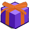 Purple Present-icon