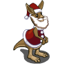 Santa Kangaroo-icon
