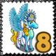 Sparkle Queen Pegasus Stamp-icon