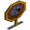 Black Rose Sheep Mastery Sign-icon