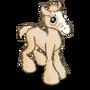 Cream Draft Foal-icon