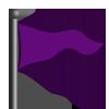 Purple flag-icon