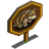 Amarillo Armadillo Mastery Sign-icon