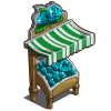 Aquamarine Rose Stall-icon